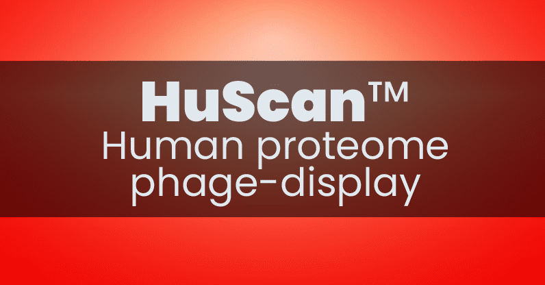 huscan human proteome phage display phip-seq button